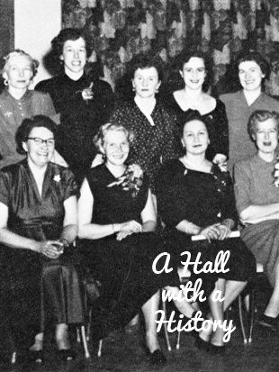 Mine Mill ladies auxiliary in the 1950s